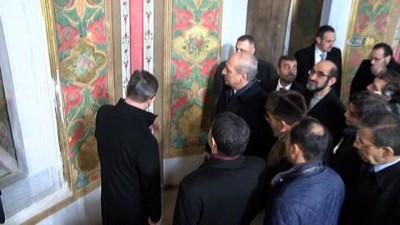 Bakan Kurtulmuş, Fatih Sultan Mehmet ve Sultan 2'inci Abdulhamid türbelerini ziyaret etti