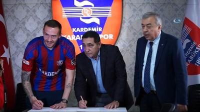 Karabükspor, Kravchenko ile 1,5 yıllık sözleşme imzaladı