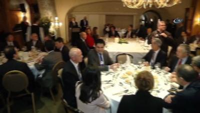 Şimşek ve Zeybekci Davos'ta iş adamlarıyla bir araya geldi