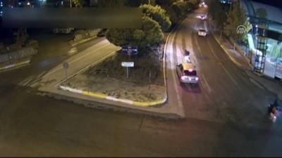 Trafik kazaları MOBESE kameralarına yansıdı - ELAZIĞ
