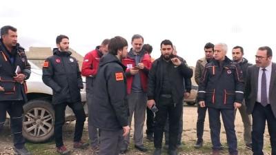 AFAD Başkanı Güllüoğlu ve Türk Kızılayı Genel Müdürü Altan Azez'de