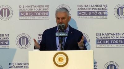 Başbakan Yıldırım: PKK'nın zulmünden kaçıp Türkiye'ye sığınan 350 bin Kürt var - İSTANBUL