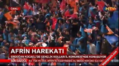 Zeytin Dalı Harekatı - Cumhurbaşkanı Erdoğan: Gerekirse Afrin'e birlikte gideceğiz