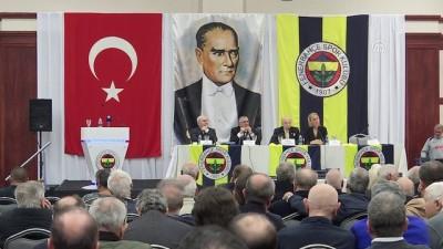 Fenerbahçe Kulübü Yüksek Divan Kurulu toplantısı - Vefa Küçük - İSTANBUL