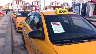 Taksicilerden Mehmetçik'e destek - ANKARA
