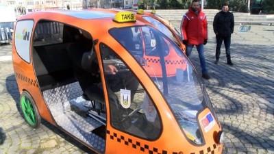 Türkiye'de bir ilk...Bisiklet taksiler yollarda