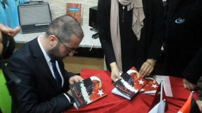 """- 15 Temmuz'u Arap dünyasına anlatan """"Kabus ve Casus"""" Ürdün'de kitapseverlerle buluştu"""