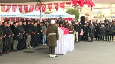 Afrin şehidi Mehmethan son yolculuğuna uğurlandı - İSTANBUL