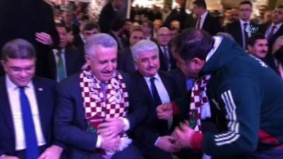 Bakan Arslan: 'Burnumuzun dibinde terör koridoru oluşturulmasına sessiz kalacak değiliz' - Ulaştırma Denizcilik ve Haberleşme Bakanı Ahmet Arslan, partisinin Antakya ilçe kongresine katıldı