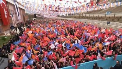 """Cumhurbaşkanı Erdoğan, """"Bugün 9. gün. Mehmet'imiz Afrin'e doğru yürüyor. Hamdolsun Burseya Dağı'nı da düşürdüler. Siz ceddinize bir bakın"""""""