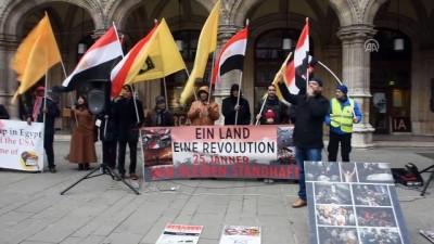 Mısır Cumhurbaşkanı Sisi karşıtı protesto - VİYANA