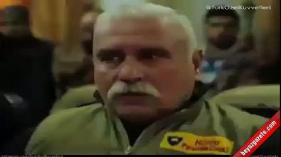 YPG'li teröristlerin korku dolu bakışları