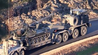 Zeytin Dalı Harekatı - Sınır birliklerine askeri sevkıyat sürüyor - HATAY