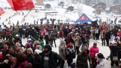 11'inci Kardan Adam Şenlikleri'nde 2 günlük yaralı bilançosu 40 kişi