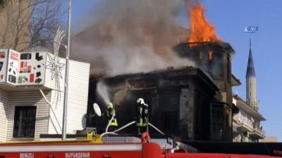 - Denizli'de yanan tarihi binanın mirasçıları evin restore edilmesini istiyor