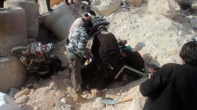 rejim karsiti - Hastaneye hava saldırısı: 1 ölü, 3 yaralı - İDLİB
