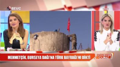 Zeytin Dalı Harekatı - Mehmetçik, Burseya Dağı'na Türk bayrağını dikti!