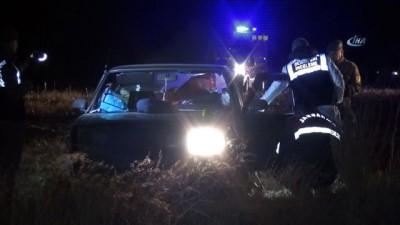Aksaray'da 1'i kadın 2 kişi otomobilde kurşunlanarak öldürüldü