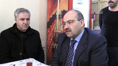 Bitlis esnafı Vali Ustaoğlu'nu ağırladı