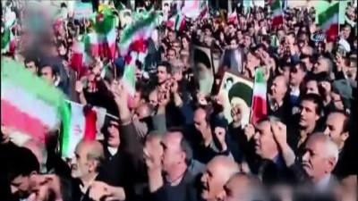 """İran'da Hükümet Yanlısı Gösteriler Başladı - """"kahrolsun Abd, Kahrolsun İsrail"""" Sloganları Atıldı"""