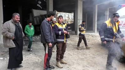 Suriye'de hastane ve fırın vuruldu - İDLİB