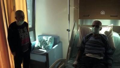 Kanser hastası babalarına destek için saçlarını kazıttılar - ZONGULDAK