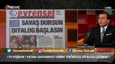 Osman Gökçek: Ben bunların kalplerinin bu ülke için çarptığına inanmıyorum