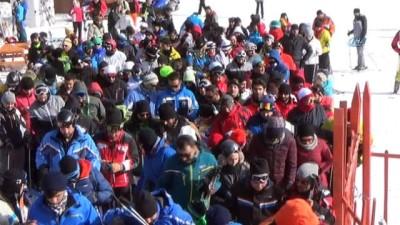 Sarıkamış Cıbıltepe Kayak Merkezi kayakseverleri ağırlıyor