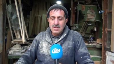 Siirt'te marangozlar hayvan yemliği yaparak ayakta kalıyor