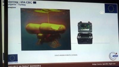 Taşkınlara su altı robotuyla müdahale edilecek - EDİRNE