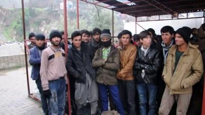 103 yabancı uyruklu yakalandı - ARTVİN