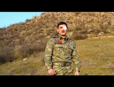 Azeri askerden Türk 'gardaşlarına' mesaj