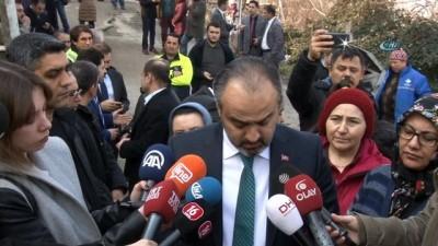 Büyükşehir Belediye Başkanı Aktaş, heyelan bölgesinde inceleme yaptı