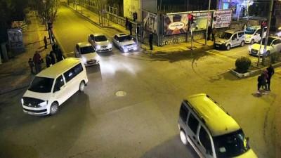 Dikkatsiz sürücü ve yayaların sebep olduğu kazalar Mobese kameralarında