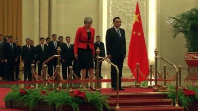 İngiltere Başbakanı May, Çin'de - PEKİN