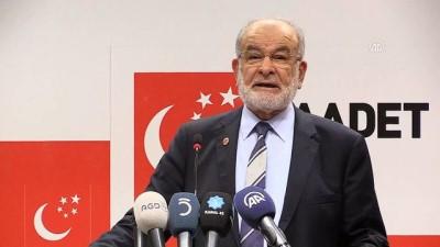 Karamollaoğlu: 'Muhalefetin ÖSO'nun iç yapısını sorgulamasını doğru bulmuyoruz' - ANKARA