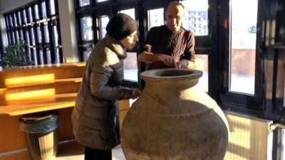 Mehmetçik Orta Çağ dönemine ait küp buldu