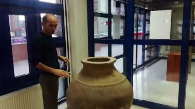 Mehmetçik, Ortaçağ'dan kalan Pithos'a sahip çıktı - TUNCELİ