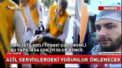 Sağlık Bakanı Ahmet Demircan'dan, 'Acil Servis' genelgesi