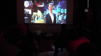 Şemdinlili çocuklar sömestirde sinema keyfi yaşıyor - HAKKARİ