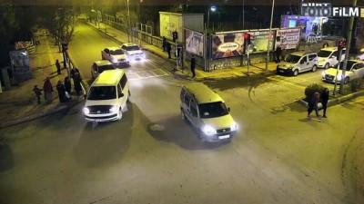 Trafik kazaları KGYS kameralarına yansıdı - SİİRT