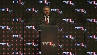 TRT'nin televizyon yayıncılığının 50. yılı - Bakan Arslan - İSTANBUL