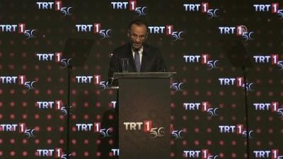 TRT'nin televizyon yayıncılığının 50. yılı - Başbakan Yardımcısı Bozdağ (1) - İSTANBUL