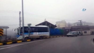 Bartın'da yoğun sis etkili oluyor