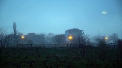 Trakya'da sis etkili oluyor - TEKİRDAĞ