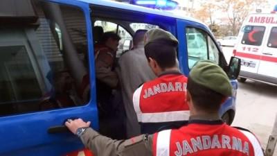 Aksaray'daki çifte cinayetin zanlısı adliyeye sevk edildi