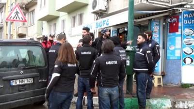 Bakanın açıklamalarının ardından polis zehir tacirlerine savaş açtı