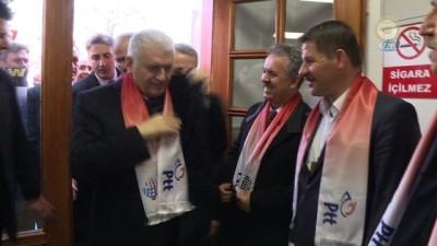 Başbakan Yıldırım, PTT Kargo ile El-Bab'a yardım paketi gönderdi