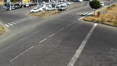 Bingöl'de trafik kazaları kamerada