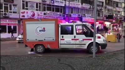 Bursa Adliyesi'nde cam şişe kırıldı adliyedekiler dışarı çıkarıldı - BURSA